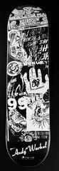 Andy Warhol Skateboard Deck (Black & White)