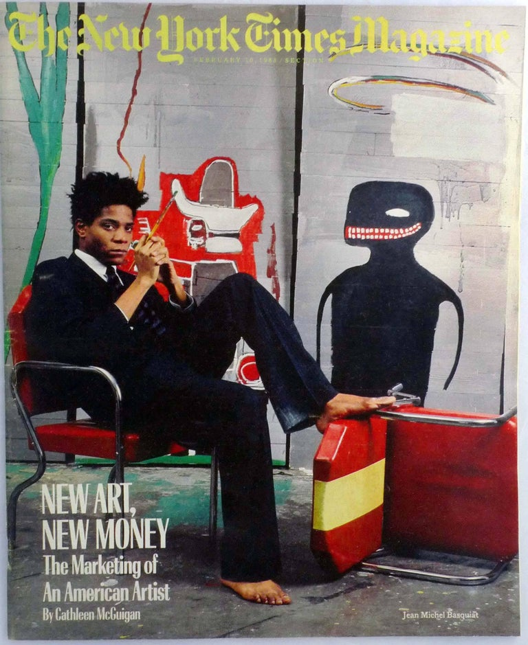 Francois Illas New Tradition: (after) Jean-Michel Basquiat