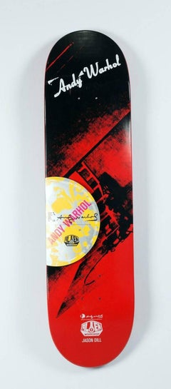 Andy Warhol Electric Chair Skate Deck (New)