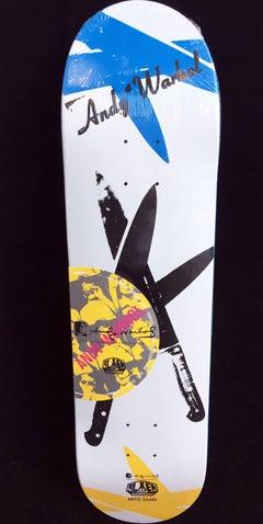Warhol Knives Skate Deck (New)