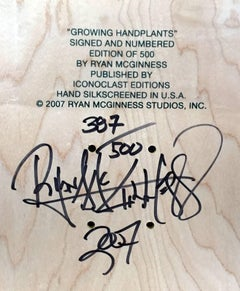 Signed Ryan McGinness Skateboard Deck