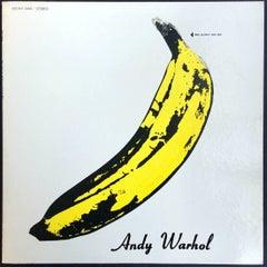 Warhol Banana Cover (Un-peeled), Nico & The Velvet Underground Vinyl Record