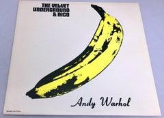 Warhol Banana Cover: Nico & The Velvet Underground Vinyl Record