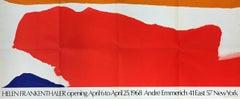 Helen Frankenthaler at André Emmerich Gallery, New York,