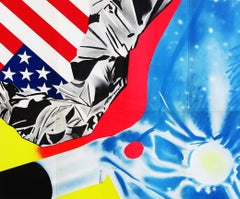 James Rosenquist announcement poster (Leo Castelli early 1970s)