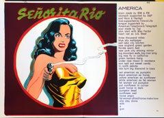 Mel Ramos Lithograph 1960s
