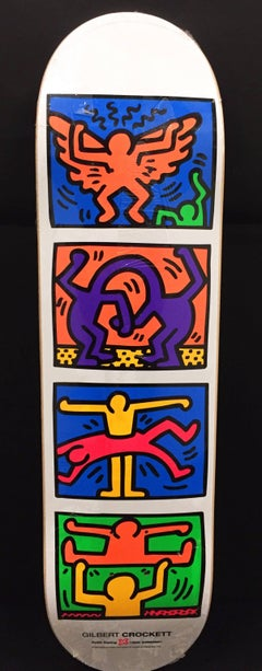 Keith Haring Retrospect Skateboard Deck