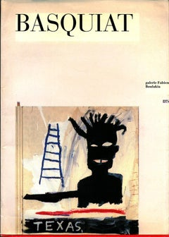 Vintage Basquiat Paris Exhibition Catalog (Basquiat Texas)