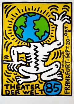 Keith Haring Theater der Welt Frankfurt (Keith Haring prints)