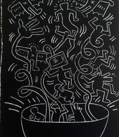 Keith Haring Future Primeval poster