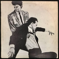 Rare Original Robert Longo Vinyl Record Art (Men In The Cities)