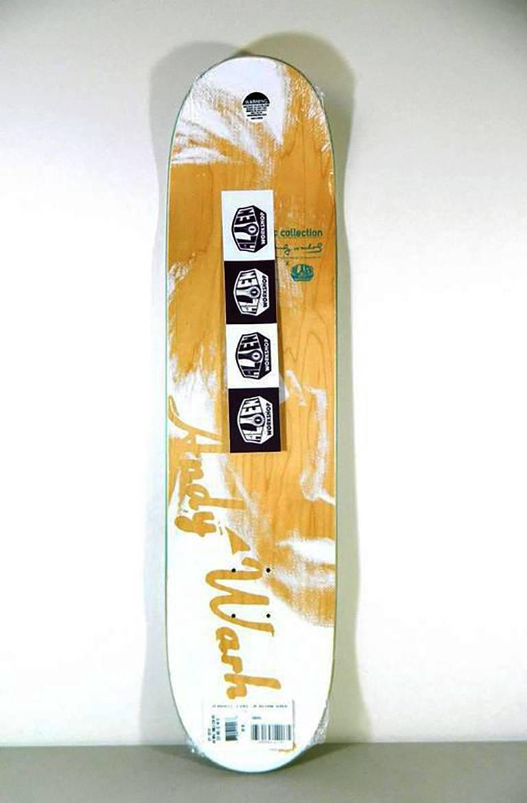 after) Andy Warhol - Warhol Campbell\'s Soup Skateboard Deck at 1stdibs