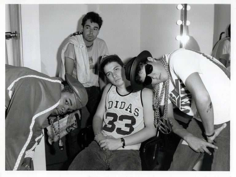 Unknown Black and White Photograph - Vintage Beastie Boys Photograph (1980s)