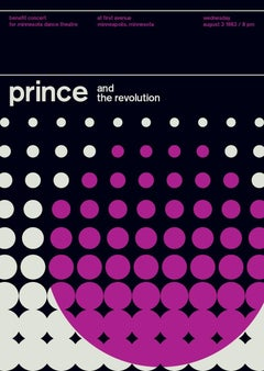 PRINCE, a limited edition Design Print
