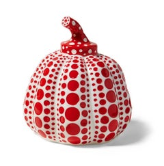 Kusama Polka Dot Pumpkin (Red and White)