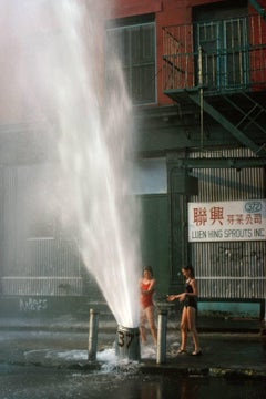 Broome Street New York City Summer 1980 (Soho)