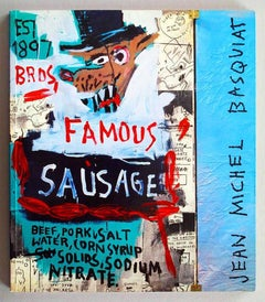 Basquiat, Galerie Navarra Catalogue, Paris (Brother Sausage)