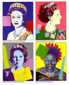 Warhol Reigning Queens invitation (Castelli Gallery)