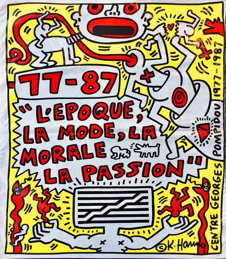 Keith Haring Centre Georges Pompidou Paris