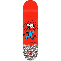 Keith Haring Skateboard Deck (Keith Haring figurative)