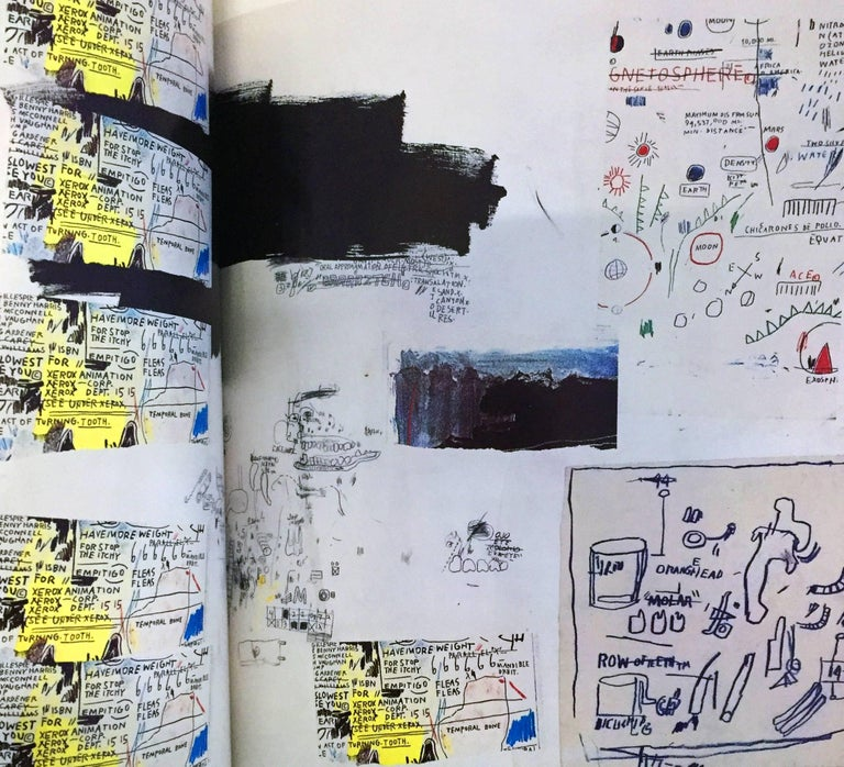 Jean-Michel Basquiat, Works on Paper: Catalog to the 1997 exhibit at the  Museu Nacional de Bellas Artes, Buenos Aires, Argentina  Illustrated cover with flaps, 128 pages 9.5 x 12 inches (30 x 24 cm). Approximately 75 color reproductions as well as