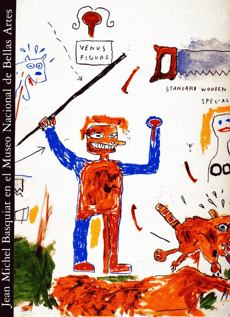 Basquiat Works on Paper Catalog, Buenos Aires - Art by (after) Jean-Michel Basquiat