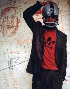 Basquiat Man Made Exhibition Catalog (SAMO)