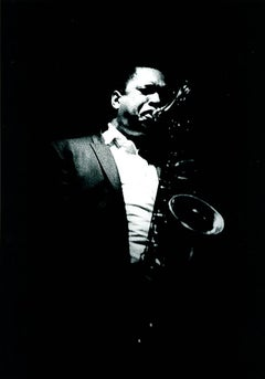 John Coltrane photograph 1960s Detroit (Jazz photography)