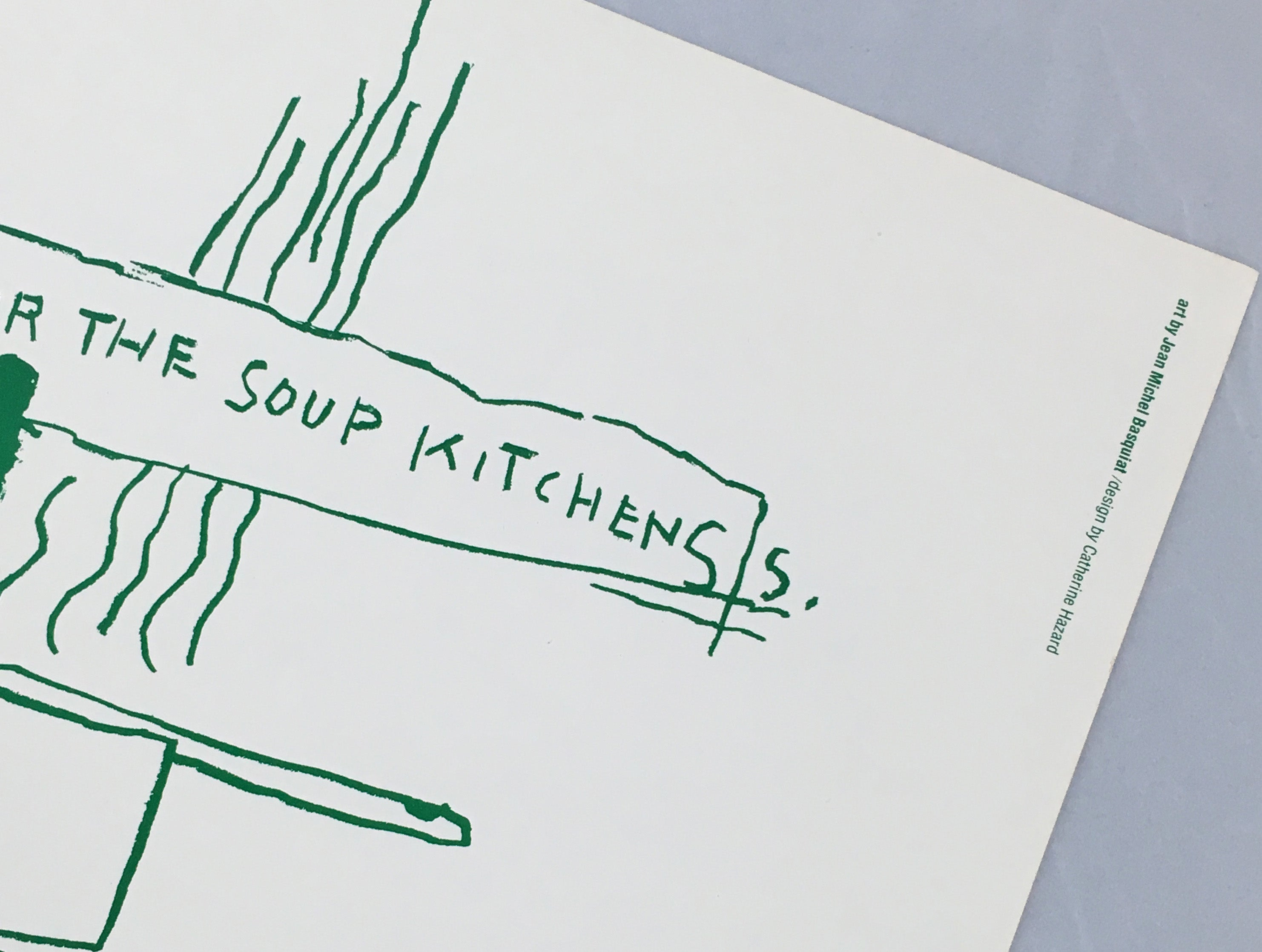 Jean-Michel Basquiat - Basquiat Food for the Soup Kitchens (poster ...