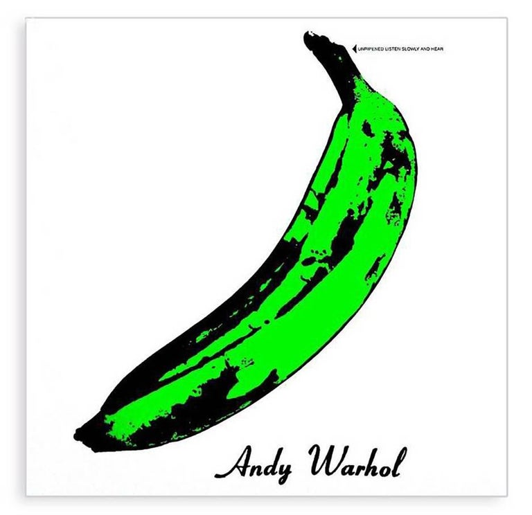 In The Style Of Andy Warhol Warhol Banana Album Cover