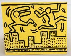 Dance on the Lower East Side (flyer)