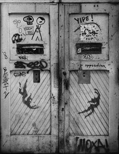 Basquiat, Keith Haring Street Art Photo 1980 (SAMO)