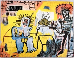 Basquiat at Annina Nosei Gallery 1982 announcement card