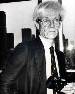 Andy Warhol photo New York 1978