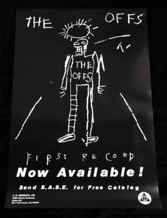 Basquiat The Offs (vintage Basquiat poster)