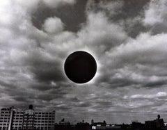 'Moonrise Over Metropolis' vintage New York City photograph