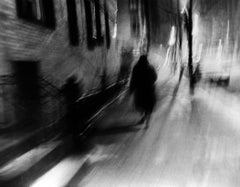 Lady Vanishes in Manhattan (street photography)