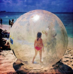 Bubble Girl The Cayman Islands photograph