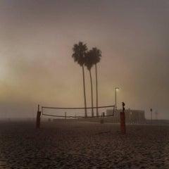 Santa Monica Fog, Los Angeles California (Santa Monica Beach)