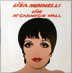 Warhol Liza Minnelli Vinyl Record Art