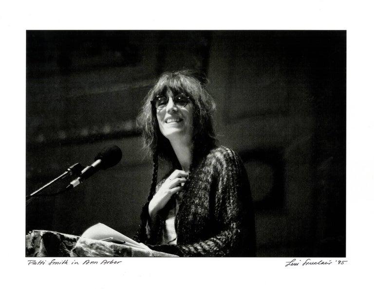 Patti Smith photograph by Detroit photographer Leni Sinclair  - Pop Art Photograph by Leni Sinclair