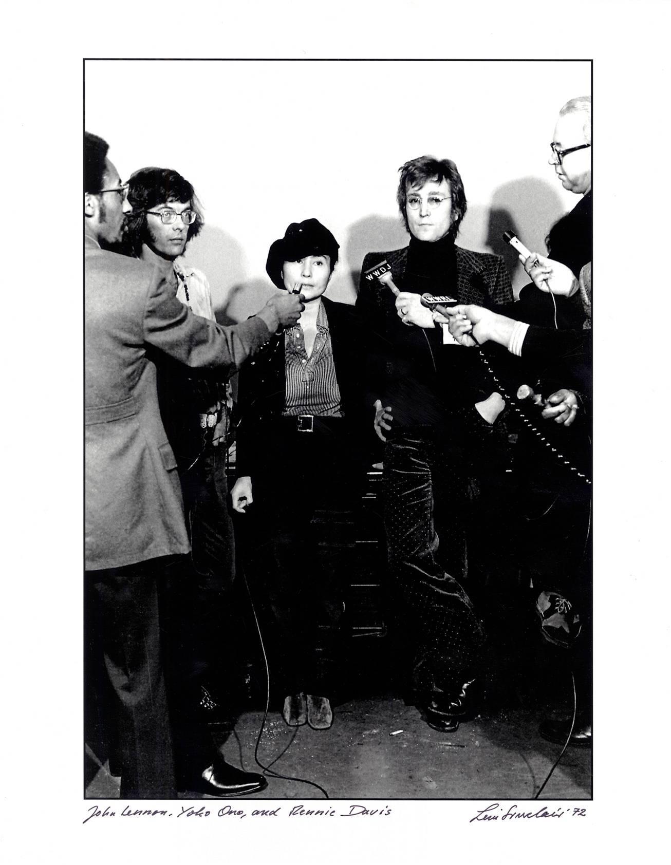 John Lennon photograph Detroit, 1970s (John & Yoko)