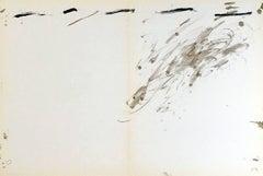 Antoni Tàpies Lithograph, Derriere Le Miroir