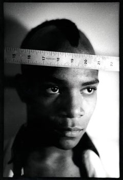 Basquiat 1979 (Nick Taylor photograph of Jean-Michel Basquiat)