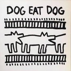 Rare Keith Haring Vinyl Record Art
