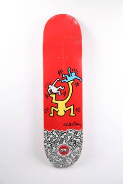 Keith Haring Skateboard Deck (New)