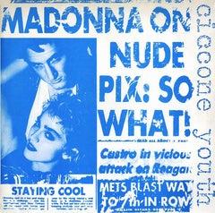Madonna Record Cover Art (Andy Warhol, Keith Haring)