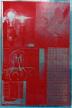 Rauschenberg Spreads and Scales (Castelli announcement)