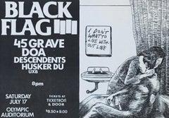 Raymond Pettibon for Black Flag (Raymond Pettibon prints)