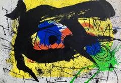 Miró 1973 Lithograph Derriere Le Miroir
